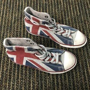 britische flagge converse chuck taylor
